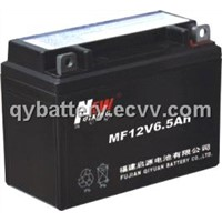 MF12V6.5AH sealed motorcycle battery