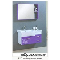 PVC Sanitary Ware Cabinet