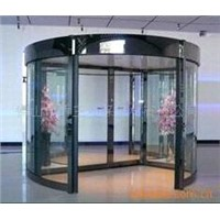 Pearly Black Two-wing Automatic Revolving Door