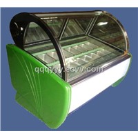 Refrigerated Ice Cream Display Counter