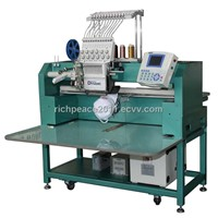 Richpeace compact single head embroidery machine