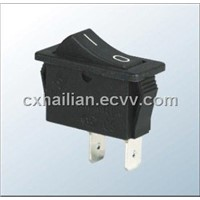 Single Pole Miniature Rocker Switch