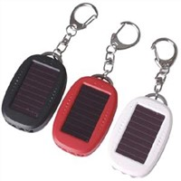 Solar Flashlight & Key Ring (Y-Y0952)
