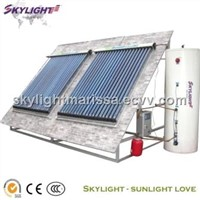 Split Solar Heating System
