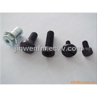 Supply 10.9 level plum screw, hex fastener, metal parts