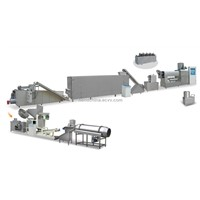 Web / Compound Inflating Food / Grain Snacks Processing Line
