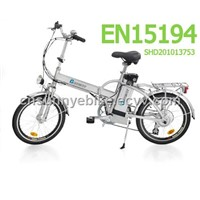 EN15194 Electric Foldable Bikes (ZW-TDN-301Z)