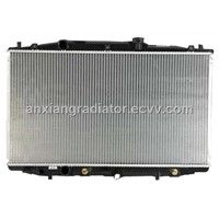 aluminum brazed auto radiator for Honda ACCORD2.4'2003 CM5