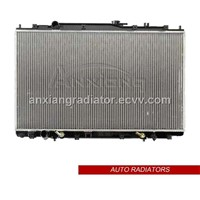 aluminum brazed auto radiator for Honda odyssey