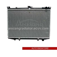 brazed auto radiator for Nissan Hardbody