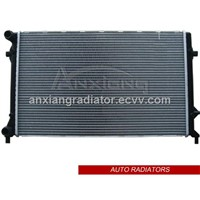 brazing auto radiator for Volkswagen Golf V