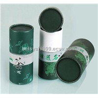 Cylindrical Paper Tea Box