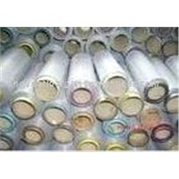 PVC coated monofilament fiberglass yarn