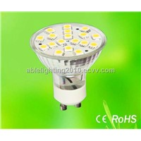 high bright gu10-18smd led bulbs