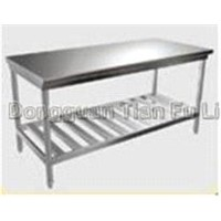 high quality stainless steel working counter(two layer)