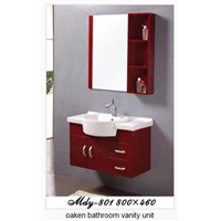 Oaken Bathroom Vanity Unit