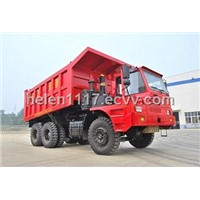 off-highway mining dump truck