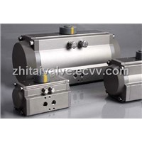 pneumatic valve with actuators