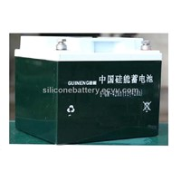 silicone power battery&silicone storage battery&battery&silicone battery 12V42AH