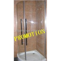 simple shower cubicle