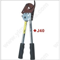 split hydraulic scissors, cable tools,cable cut (ratcheting device)J40