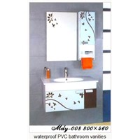 Waterproof PVC Bathroom Vanities