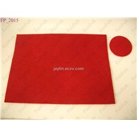 Wool Felt Placemats & Coastes Set