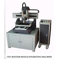CNC Mould Engraving Machine Zee 4540 Made in Korea