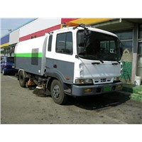 used road sweeper truck