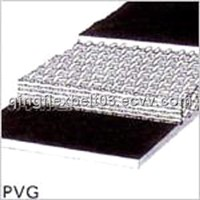 pvc pvg solid woven conveyor belt