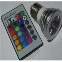 rgb led remote control light