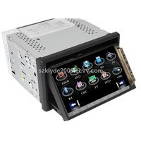 2DIN Car DVD with 3D GUI (KD-7800V)