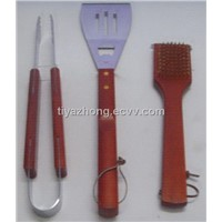 BBQ with Wooden handle(FQ-BBQ084)