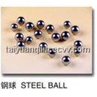 Concrete pump steel ball