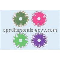 Diamond Blades with Protective Segments