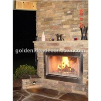 ECM Fireplace Paving