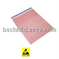 ESD Pink Bubble Bag