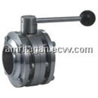 Flanged Wafer Type Butterfly Valve