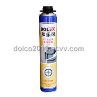 Gun-type one-component polyurethane foam sealant
