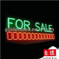 LED Sign with Message