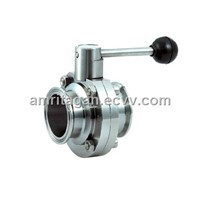 Sanitary Quick- Installed Butterfly Valve
