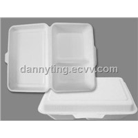 Two Compartment Hinged Meal Box