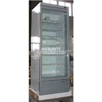 Upright Glass Door Refrigerator