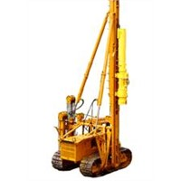 Hinged Pile Driver