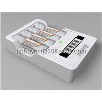 fast Charger for 1-4pcs AA/AAA battery
