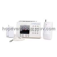 8 wireless zones intrusion alarm system