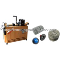 Mesh Scrubber Making Machine