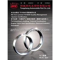 valve seat for car engine& diesel engine