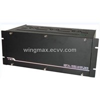 128 channel optical transmitter and receiver