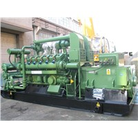 12V190 gas engine/genset